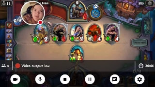 My Hearthstone Heroes of Warcraft Stream