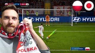 FIFA 18 KARNE CHALLENGE POLSKA VS JAPONIA FIFA WORLD CUP RUSSIA *magiczne nogi Szczęsnego*