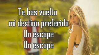 Un escape LETRA - Corina Smith Ft Gustavo Elis