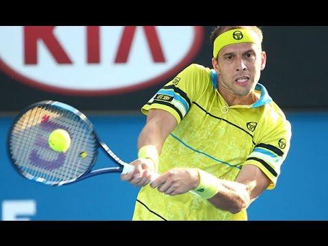 John Millman v Gilles Muller highlights (2R) | Australian Open 2016
