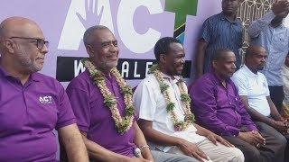 Hivi Ndivyo MAALIM SEIF, ZITTO Walivyopokelewa Zanzibar