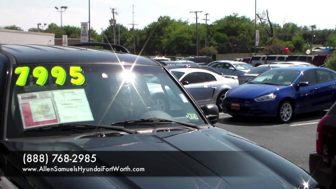 Dallas tx allen samuels used cars vs carmax vs cargurus sales hurst tx fort worth craigslist cars youtube