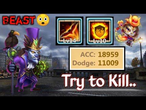 Walla Walla   14 Skill   11000 Dodge   18900 Accuracy   Raids/Dungeon   Best Set Up   Castle Clash