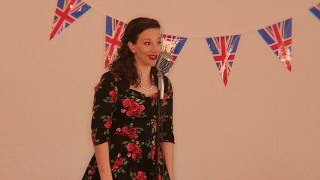 VE Day 2020- The Vintage Vocalist- Mawgan Stott