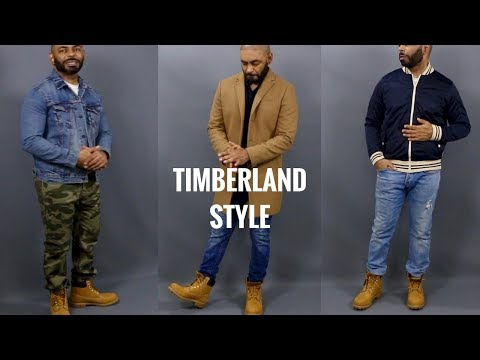How To Style Men's Timberland Boots/How To Wear Timberland 6 Inch Premium Wheat Boots