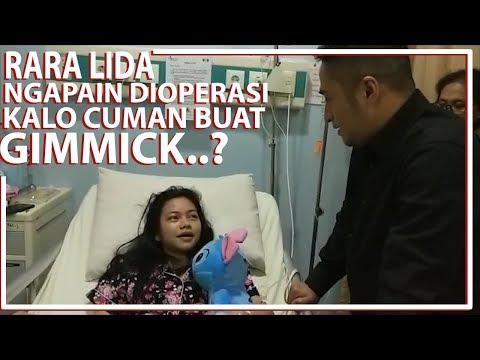Image of RARA LIDA, Ngapain dioperasi kalo cuma buat gimmick..?