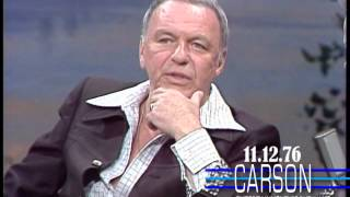 Frank Sinatra Describes a Hilarious Prank Don Rickles Played On Him