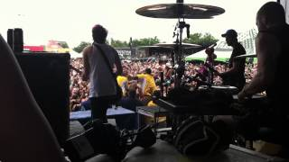 """Weightless""-All Time Low (Live Onstage Vans Warped Tour Houston, TX 7/1/12"