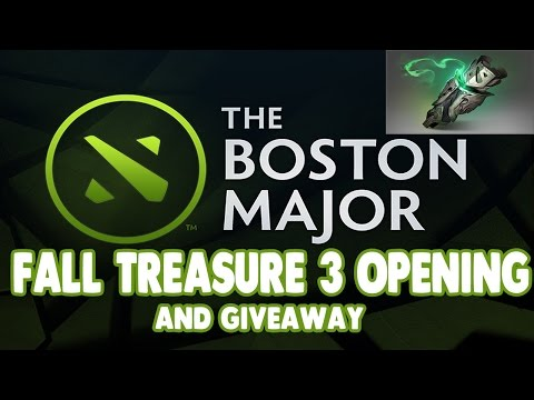 [CLOSED] Dota 2 Fall 2016 Treasure III Chest Opening + Giveaway! (The Boston Major) #3