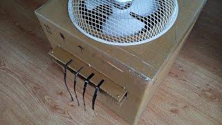 Как сделать мощный кондиционер для комнаты??? / how to make powerful air conditioner for room???