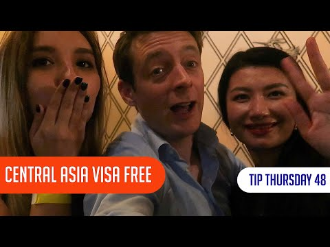 Central Asia Visa Free in 2020 (Kazakhstan, Uzbekistan, Kyrg