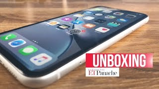 iPhone XR: Unboxing & First Impression | India Unit - White | ETPanache