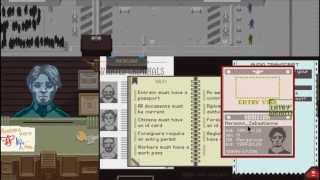 Papers, Please - Ending 20 of 20 (100 % Accuracy Run, 615 stamps)