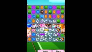 Candy Crush Saga Level 1434 No Booster with tips