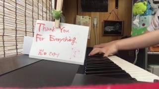 Thank You For Everything/岩田さゆり(piano) 名探偵コナンのエンディン...