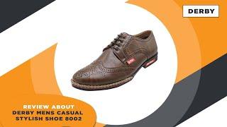 Derby Mens Casual Stylish Shoe 8002 Review | GTrendz | Tamil | Footwear Exclusive | Gunasekar