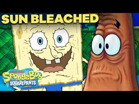 "SpongeBob Gets ""Sun Bleached""! ☀️ Full Episode In 5 MINUTES!"
