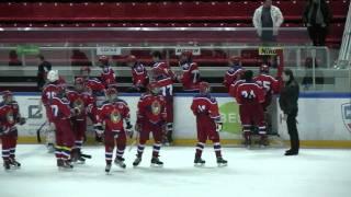 Хоккей, драка ЦСКА95