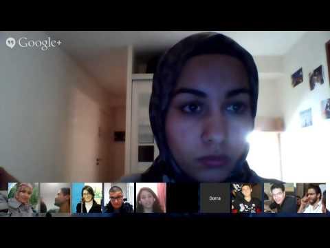 GSA Hangout with GDG Women Tunis
