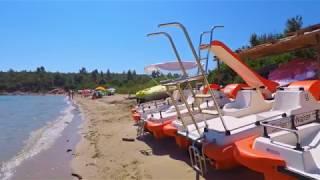 La plage de Paliouri, la plus belle de Kassandra