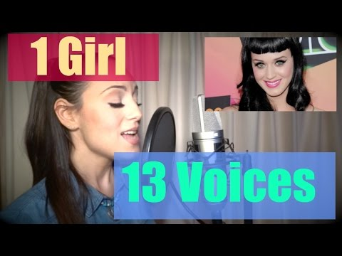 JENNY MARSALA - 1 Girl 13 Voices (Katy Perry, Adele, Shakira, Taylor Swift, Lady Gaga)