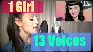Repeat youtube video JENNY MARSALA - 1 Girl 13 Voices