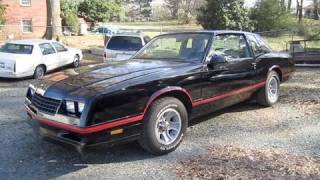 1987 Chevrolet Monte Carlo SS Aerocoupe Start Up, Exhaust, and In Depth Tour