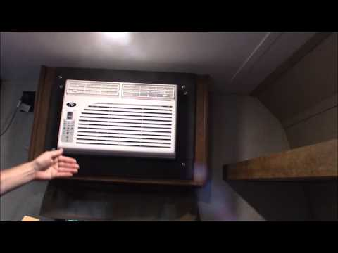 Travel Trailer/RV window unit air conditioner replacement