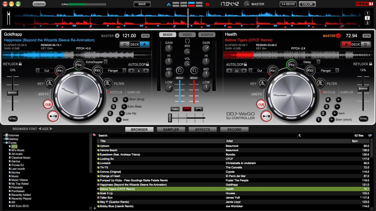 pioneer wego virtual dj le