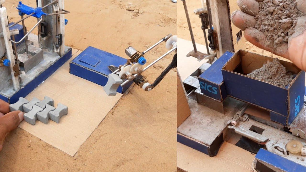 amazing brick machine - motor project ideas