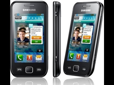 Samsung Wave 525 hardware specifications