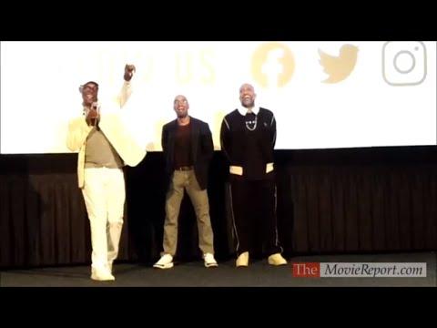 SHAFT Hollywood Screening Introduction By Samuel L Jackson, Tim Story, Kenya Barris - June 5, 2019