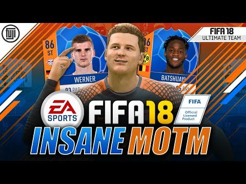 INSANE NEW MOTM CARD!!! - FIFA 18 Ultimate Team