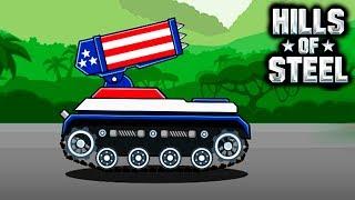 УБОЙНАЯ КАТЮША HILLS of STEEL #8 Сумасшедшие танки мульт ИГРА для детей tanks BATTLE video GAME kids