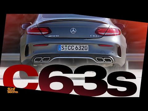 Mercedes-AMG C 63s Coupé Testdrive & Review (German) Pt.2