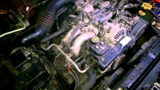Звук мотора 2,2 Subaru Legacy