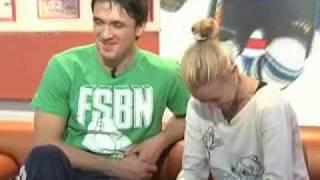 Максим Траньков и Татьяна Волосожар на льду и вне его.