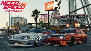 Guerra tuning #2 de Ford Mustang Foxbody en Need for Speed Payback   BraxXter