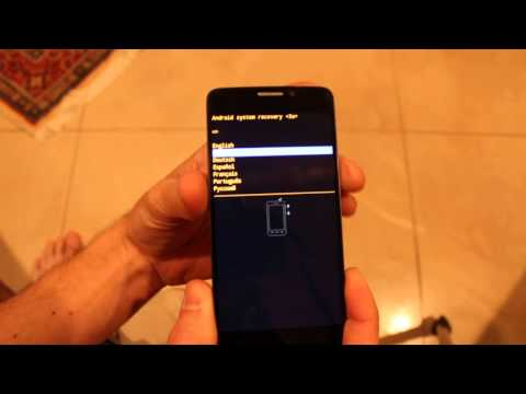 Alcatel One Touch Idol X Hard Reset 6040A Factory Wipe