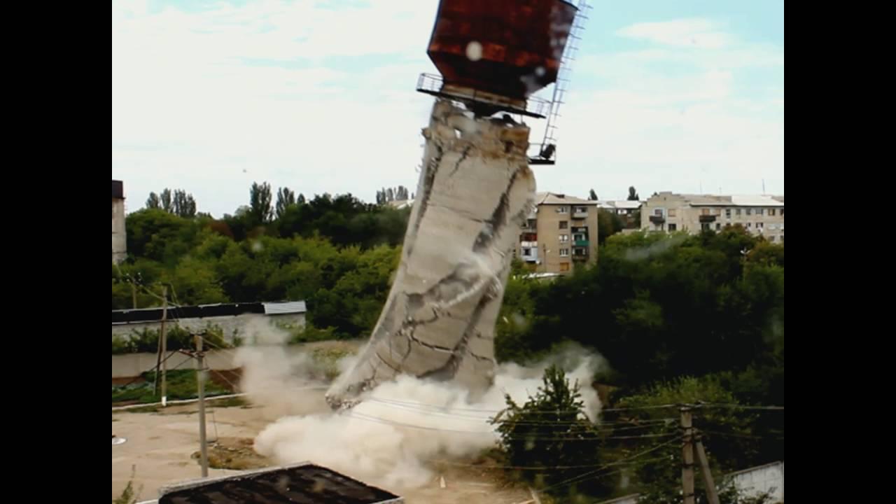 Демонтаж водонапорной башни прайс