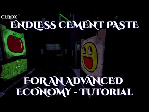 Endless Cement Paste for an Advanced Economy - ARK Survival Evolved Tutorial