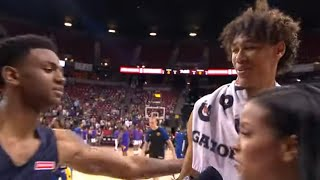 Jaxson Hayes and Nickeil Alexander-Walker Postgame Interview After Bulls Pelicans Summer League Game