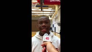 Trejuan Holloman: 2019 USA Basketball Junior Minicamp Interview
