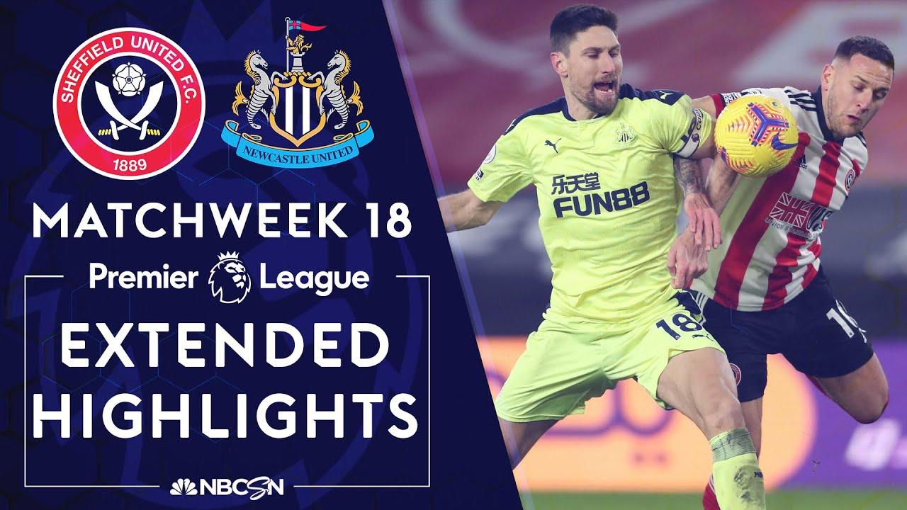 Download Sheffield United v. Newcastle   PREMIER LEAGUE HIGHLIGHTS   1/12/2021   NBC Sports