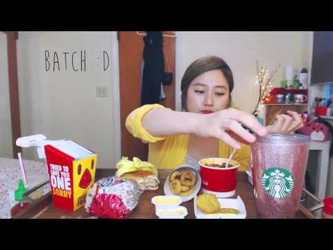 Mcdonalds + Burger King + Wendy's MUKBANG