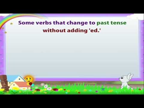 Learn Grade 3 - English Grammar - Tenses