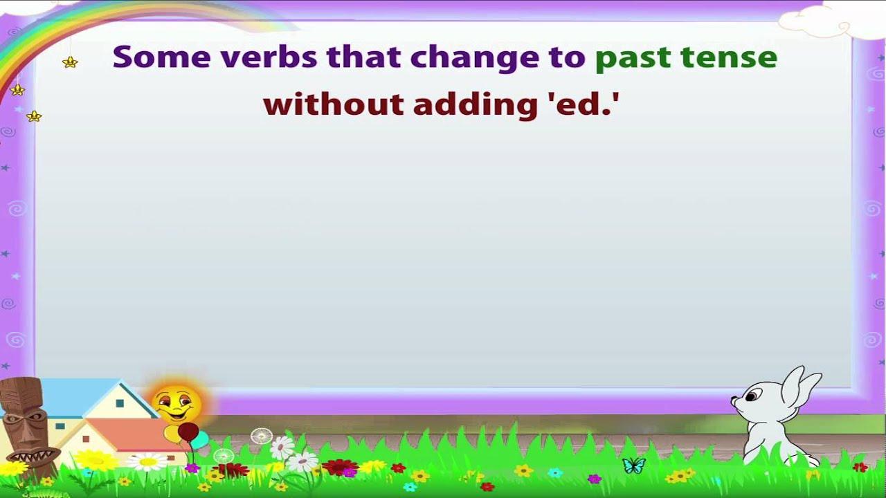 Learn Grade 3 - English Grammar - Tenses