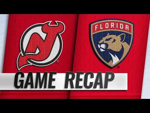 Zajac's OT Winner Propels Devils Past Panthers, 4-3