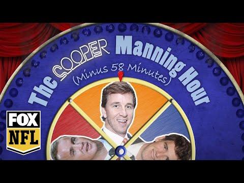 Cameron Jordan joins Cooper Manning for a post-Thanksgiving meal | Manning Hour | FOX NFL