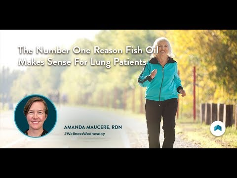 The Number One Reason Fish Oil Makes Sense For Lung Patients